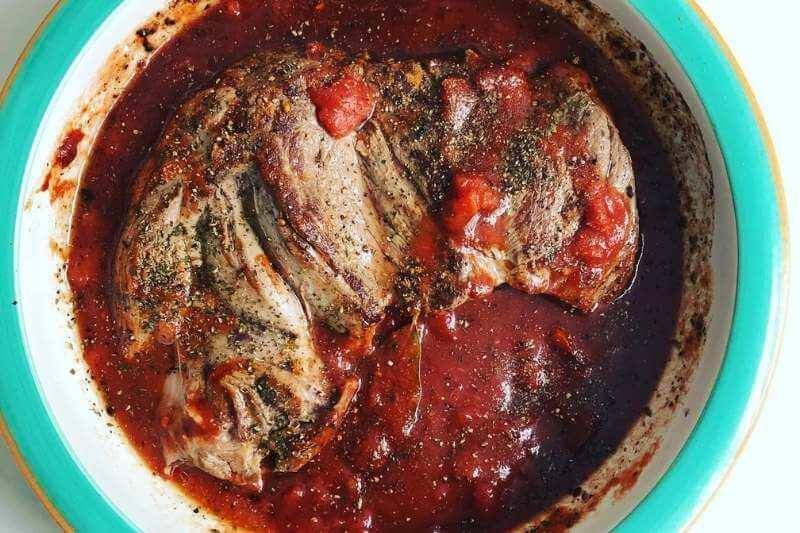 Youvetsi Lamb & Orzo Stew